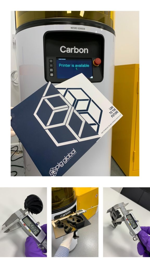 Carbon's 3D Printer is available in our office in Nottingham