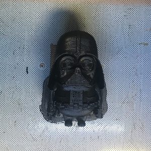 Image of FDM-3D-printed darth Vader to illustrate the technology